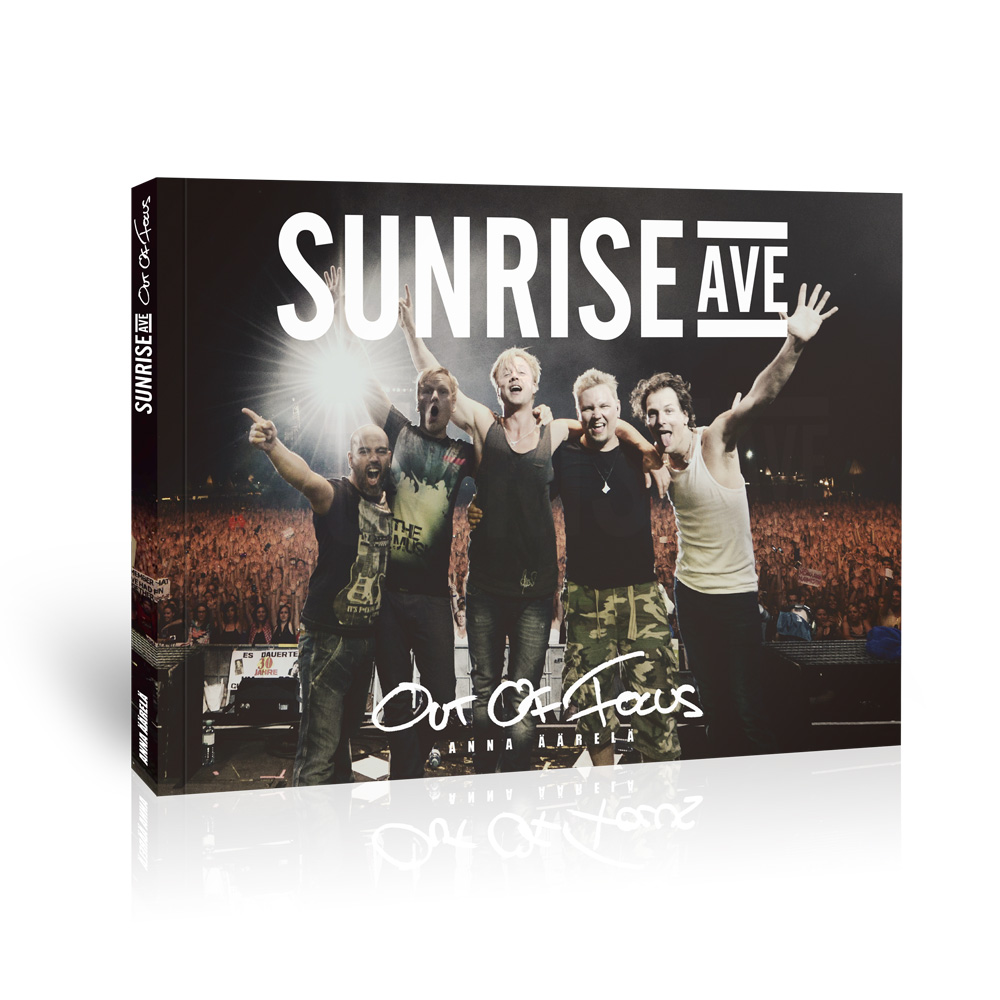 √Out Of Focus von Sunrise Avenue - Book jetzt im Sunrise Avenue Shop