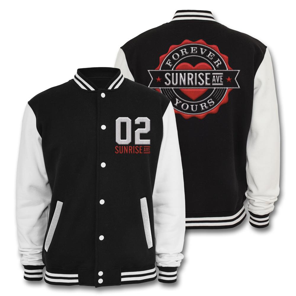 √Forever Yours Emblem von Sunrise Avenue - College Jacke jetzt im Sunrise Avenue Shop