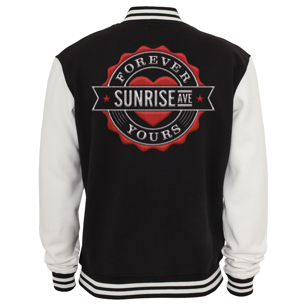 Sunrise avenue shop forever yours emblem sunrise avenue college jacke - Forever yours sunrise avenue ...