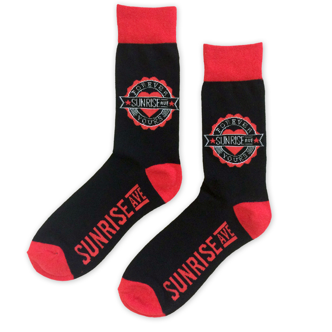 √Forever Yours Emblem von Sunrise Avenue - Socks jetzt im Sunrise Avenue Shop