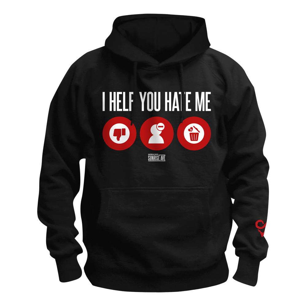 √I Help You Hate Me von Sunrise Avenue - Hood sweater jetzt im Sunrise Avenue Shop