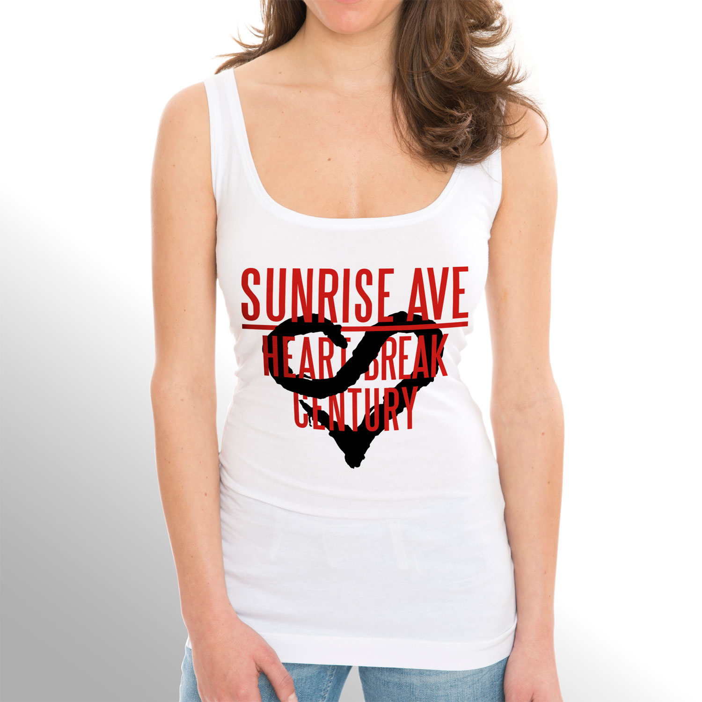 √Heartbreak Century Logo von Sunrise Avenue - Girlie Top jetzt im Sunrise Avenue Shop