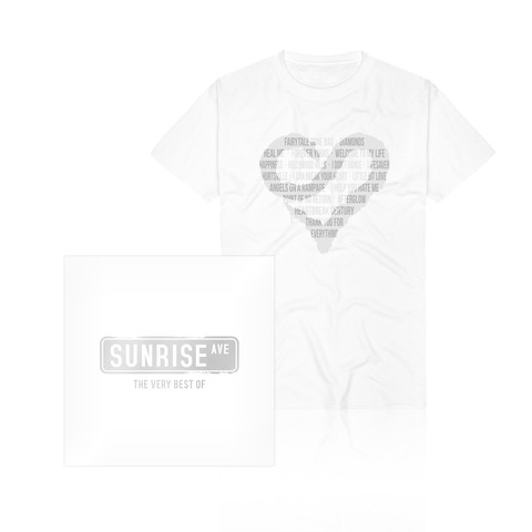 √The Very Best Of (CD/DVD + T-Shirt) von Sunrise Avenue - CD Bundle jetzt im Sunrise Avenue Shop