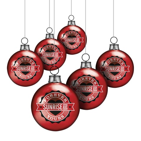 √Forever Yours Emblem von Sunrise Avenue - christmas balls, set of 6 jetzt im Sunrise Avenue Shop