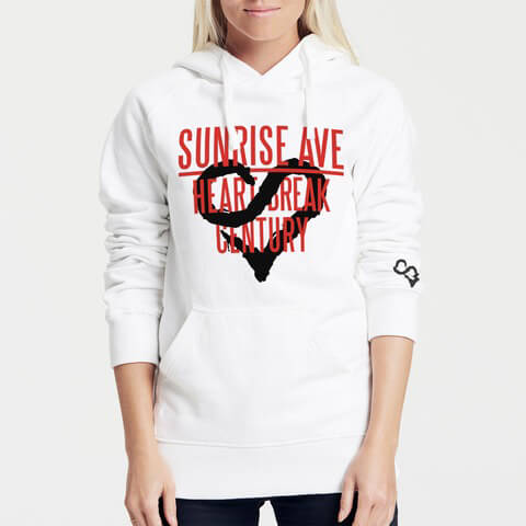 √Heartbreak Century Logo von Sunrise Avenue - Girlie hooded sweater jetzt im Sunrise Avenue Shop