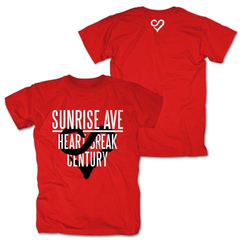 Heartbreak Century Logo von Sunrise Avenue - T-Shirt jetzt im Sunrise Avenue Shop