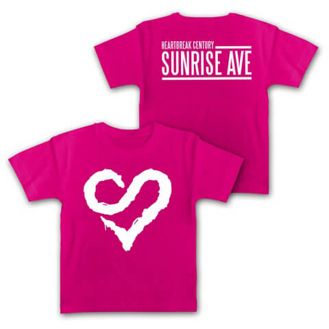 √Logo Heart von Sunrise Avenue - Kids Shirt jetzt im Sunrise Avenue Shop