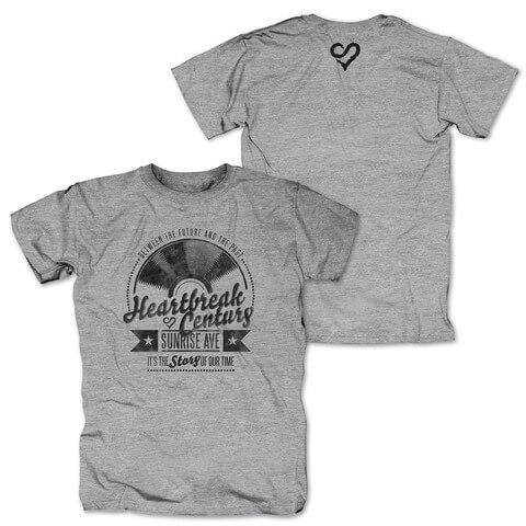 √Vinyl Heart von Sunrise Avenue - T-Shirt jetzt im Sunrise Avenue Shop