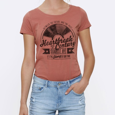 √Vinyl Heart von Sunrise Avenue - Girlie Shirt jetzt im Sunrise Avenue Shop