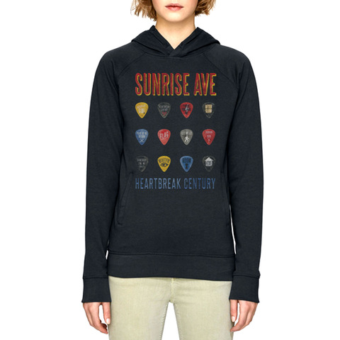 Plec Songs von Sunrise Avenue - Kapuzenpullover jetzt im Sunrise Avenue Shop