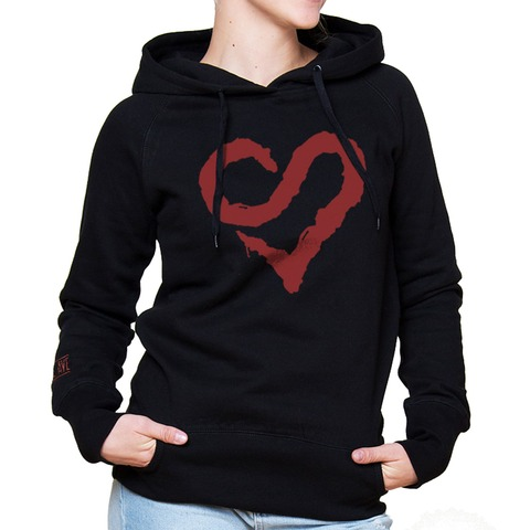 √Logo Heart Red von Sunrise Avenue - Hood sweater jetzt im Sunrise Avenue Shop