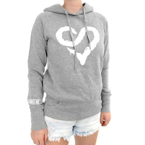 Logo Heart White von Sunrise Avenue - Kapuzenpullover jetzt im Sunrise Avenue Shop
