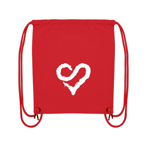 Logo Heart White von Sunrise Avenue - Gym Bag jetzt im Sunrise Avenue Shop