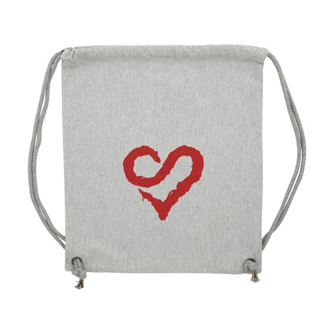 Logo Heart Red von Sunrise Avenue - Gym Bag jetzt im Sunrise Avenue Shop