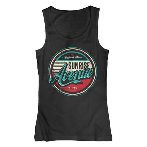 √Heartbreak Badge von Sunrise Avenue - Girlie tank top jetzt im Sunrise Avenue Shop