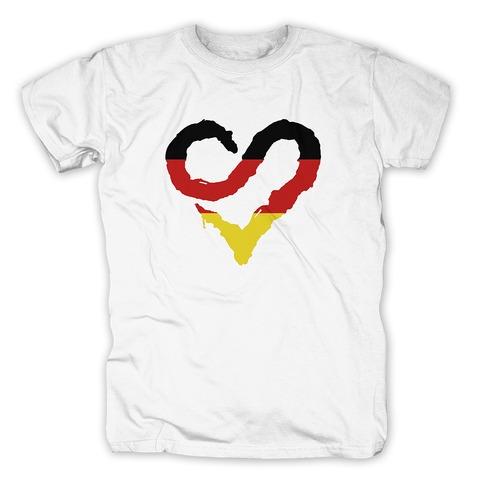 √German Heart von Sunrise Avenue - T-Shirt jetzt im Sunrise Avenue Shop
