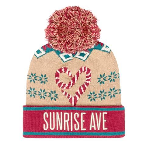 √Christmas Eve von Sunrise Avenue - Mütze mit Bommel jetzt im Sunrise Avenue Shop