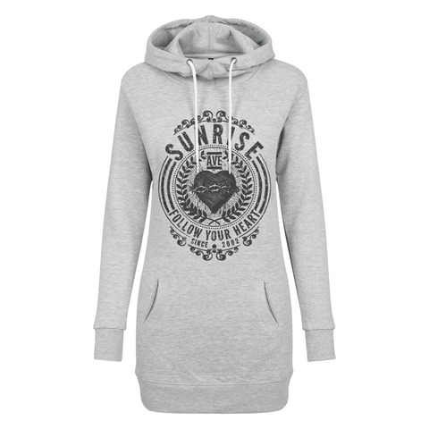 Follow Your Heart 2021 von Sunrise Avenue - Long Girl Hoodie jetzt im Sunrise Avenue Shop